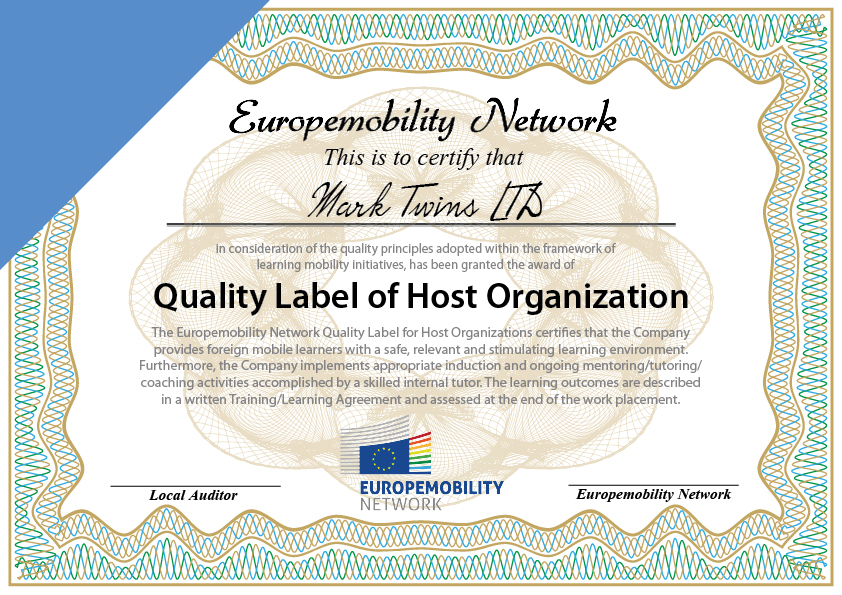 quality label host company en