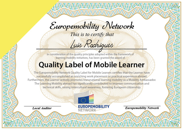 quality label mobile learner en web